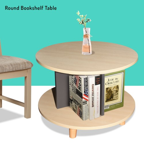 Side Table (Round bookcases)
