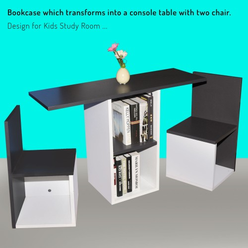 Kid Study Table (Bookcases transform)