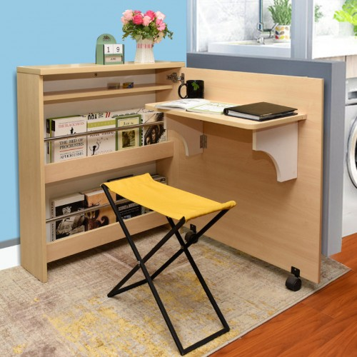 Home Office Table ( Space Saving Folding Cabinet)